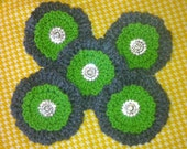 Custom Crocheted Flower Pins