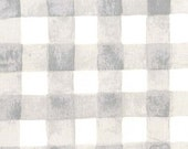 1 Yard Painted Gingham Cloud, Sommer Collection by Sarah Jane, Michael Miller Fabrics, Quilting Cotton