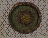 """9"""" Crochet Decorative Bowl or Small Pet Bed"""