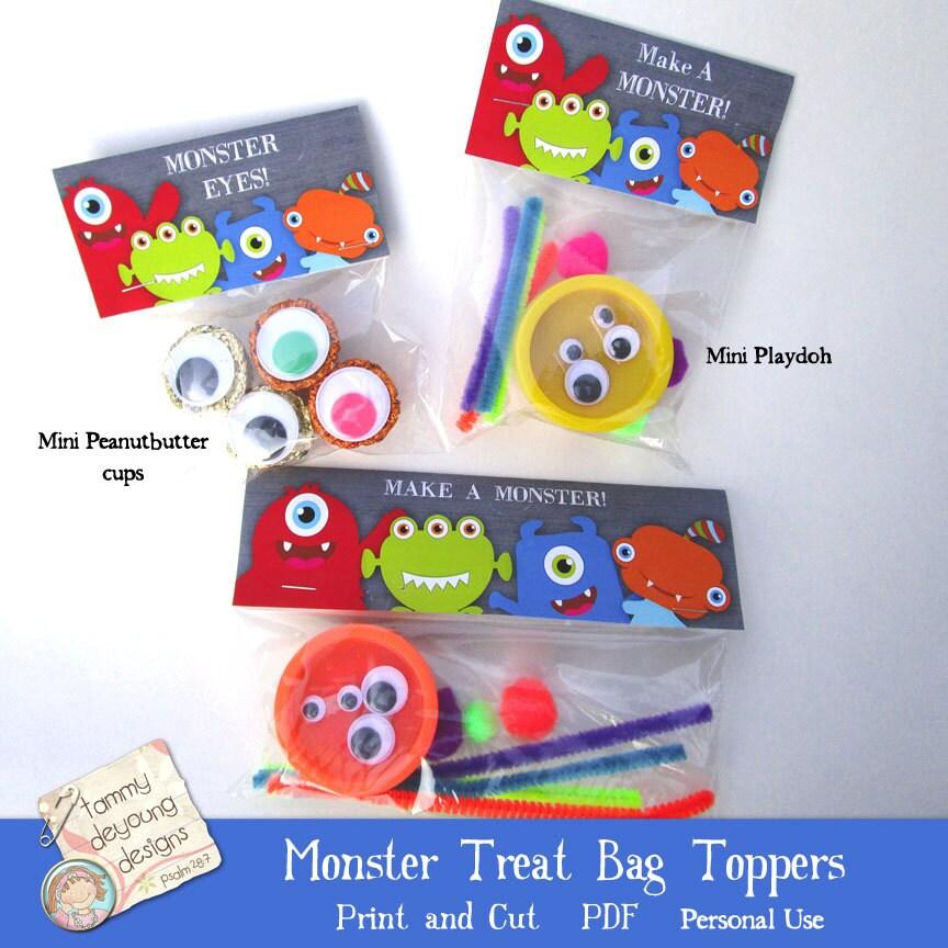 zoom - Kids Halloween Treat Bags