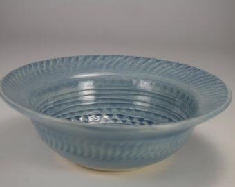 Sky blue bowl