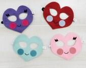 HEART MASK- Valentine's Day