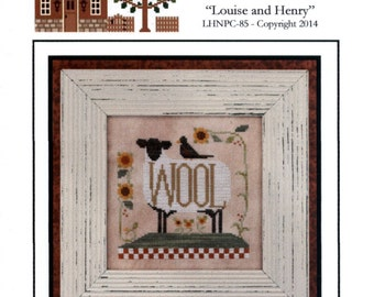 Little House Needleworks: Louise and Henry - Cross Stitch Pattern