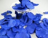 Petals Royal Blue Cobalt Rose Flower Petals - Artificial - Little Prince Party - Flower Girl Petals - Table Scatter - Floral Craft 200pcs