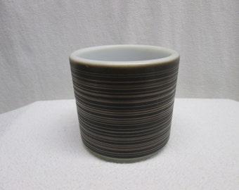 Pyrex Terra Bake serving dish cup 1960s cup pyrex brown cup