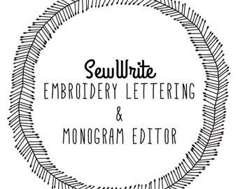 SewWrite Embroidery Software   Instant Download