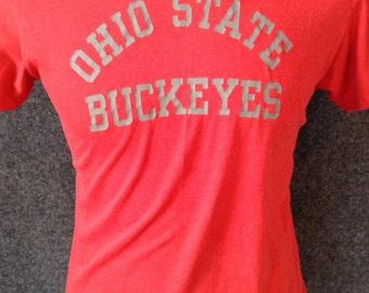 1980's OSU Ohio State Buckeyes thin t shirt