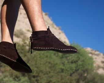 Men's Soft Soled Lion Moccasin by IntotheWild