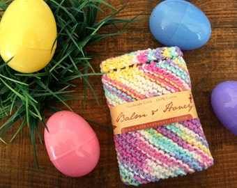 Spring Joy, A House Helper, Dishcloth, Knit Dishcloth, Kitchen Cloth, Cloth, Cleaning