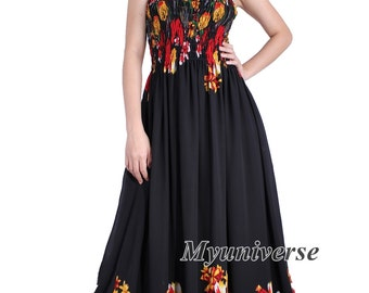 Plus Size Dress Black Party Dress Prom Dress Formal Gown Maxi Dress Women Long Floral Maternity Dress Wedding Guest Vintage Style