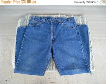 1970s Orange Tab Men's Levi's 517 Vintage Jeans / 34 X 30 Measured / Single Stitch / Great Condition