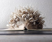 "Book Art Sculpture ""Curly book"""