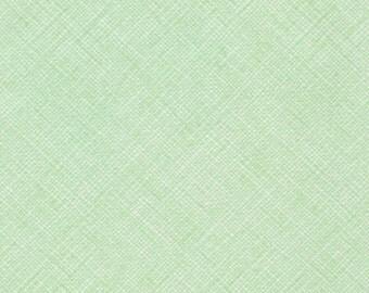 Architextures Crosshatch in Mint, Carolyn Friedlander, Robert Kaufman Fabrics, 100% Cotton Fabric, AFR-13503-32 MINT