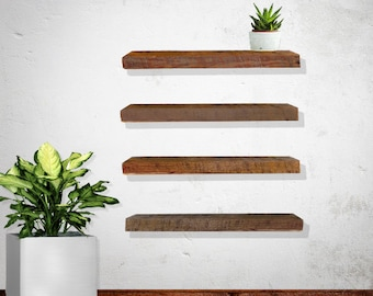 Floating Shelves - Reclaimed Wood, Rustic, Barnwood, Sets
