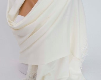 Bridesmaid shawl ,wedding bridal pashmina scarf shawl