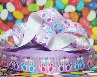 """7/8"""" Easter Bunny Grosgrain Ribbon"""
