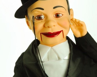 Vintage Ventriloquist Dummy Charlie McCarthy Boxed