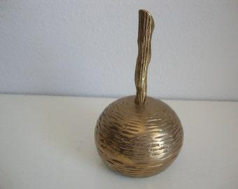 Brass  Bell, Vintage Brass Bell, Heavy Brass Bell, Home Decor