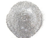 Ultrafine Silver SOLVENT RESISTANT Glitter 0.008 Hex - 1 Fl. Ounce for Glitter Nail Art , Glitter Nail Polish & Glitter Crafts