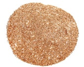 Sunset Gold SOLVENT RESISTANT GLITTER 0.015 Hex - 1 Fl. Ounce for Glitter Nail Art Glitter Nail Polish and Glitter Crafts