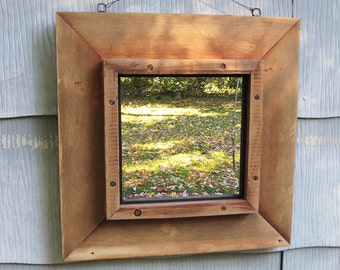 Medium Rustic Mirror