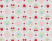 Bake Sale C3432 Gray of Lori Holt by Bee In My Bonnet for Riley Blake/Fabric by the Yard/Fabric by The Half Yard/Fat Quarter/PRICES VARY