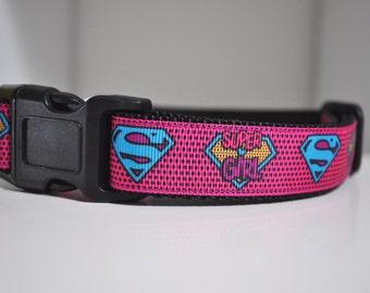 Dog Collar -My Heroine - Super Dog -  50% Profits to Dog Rescue