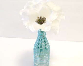 White Anemone Flowers In Acrylic Water, Anemone Arrangement, Floral Arrangement, Home Decor, Home Accents,