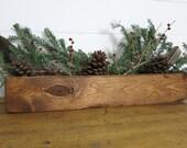 Wood storage caddy