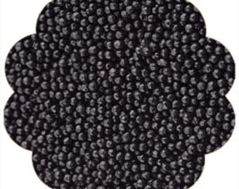 Black Nonpareils Sprinkles Cookie Cake Cupcake Decorating 4 oz