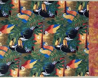 Pillowcase - Tropical Birds