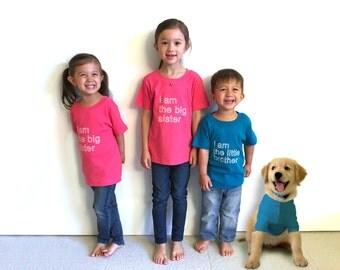 Big/Little Brother/Sister Kids Tee