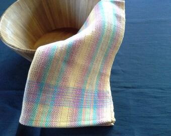 Handwoven Colorful Cotton Kitchen Towel (1224)