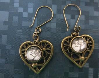 Netrunner Jinteki Heart Earrings