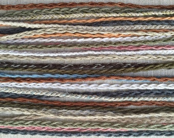 Simple Braid - Tie On Friendship Bracelets- 32 Colors