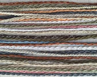 Simple Braid - Tie On Friendship Bracelets- 32 Colors