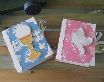First Communion Mini Book Boxes Set of 12