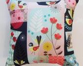 Pretty, fantail, cushion, cover