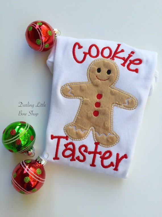 gingerbread shirt gingerbread shirt cookie taster boys christmas long