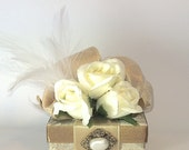 Reserve Listing for Carla - Golden Wedding Anniversary Gift Boxes - Small