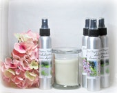 Room Spray,Your Choice Lilac or French Lavender, Pump Mister, Deliciously Fresh Room Deodorizer, 4 fl ounces