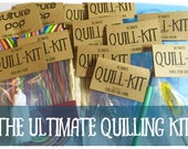The Ultimate Quilling Kit - Everything you need to learn the art of paper quilling