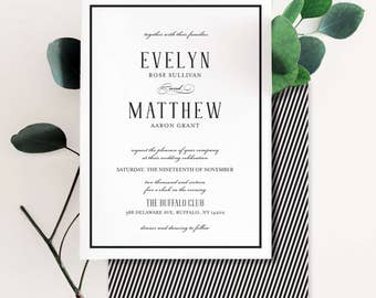 A Perfect Union Wedding Invitation Suite