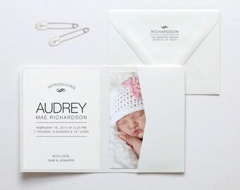 Audrey Baby Announcement