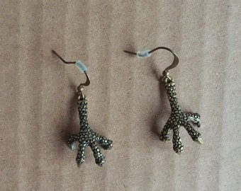 Bird Claw Talon Earrings