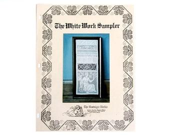 The White Work Sampler Sharon Cohen Binder 1993 Drawnwork Chartpack
