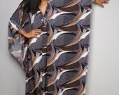 Maxi Dress - Boho Maxi Dress - Summer Kaftan Dress : Funky Elegant Collection No.1p