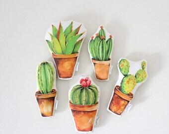 Cactus Baby Rattle