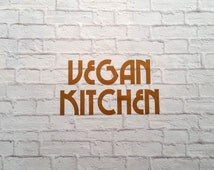 Popular Items For Vegan Kitchen Decor On Etsy