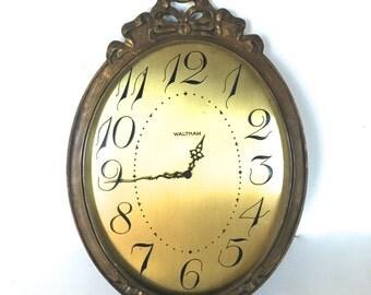 Vintage Waltham clock